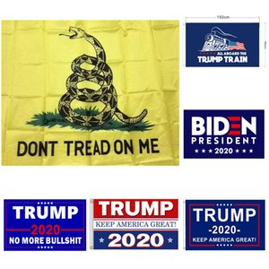 Открытый Stardard Размер 3 х 5 футов 150x90cm Dont Tread On Me Gadsden Flag Trump Байдена Президент Флаг Знамени Америки