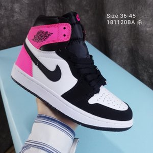 2020 Shoes Ar NakeskinJordâniaAJ1Aj1Sneakers Homens mosca das mulheres Basketball Sneakers Chaussures quebrado Voltar Shoes