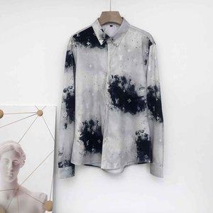 2020 Brand New Designers Mens Dress Shirts Fashion Casual Shirt Men Medusa