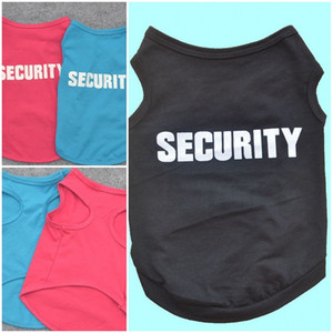Sicherheit Hunde-Bekleidung Einfachheit Welpen Baumwollweste Breath Comfort Pet Kleidung liefert Schöne Multi Spezifikation Farbe 3 6ye D2