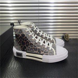 2020 New B23 Oblique Fleurs Sneaker Mens Designer Casual Shoes lettres Transparent Femmes Haut Bas Loisirs Entraîneur avec la boîte