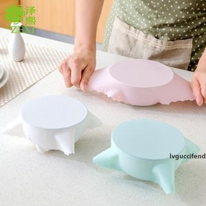 Silicone Rubber Cover for Tablets Silicone Stretch Suction Pot Lids Food Grade Fresh Keeping Wrap Seal Lid Pan Cover for Microwave Oven