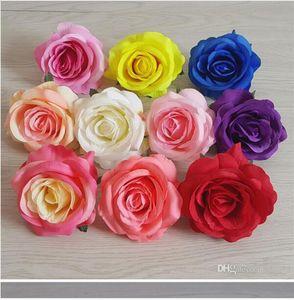 Имитация Роза Оптовая Simulation пион венчания бутона сердечника Роуз Глава Rose Wall Path Введение Цветочные проекты W785