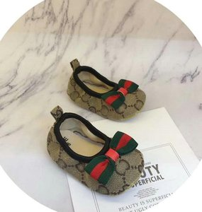 008 Neue Babyschuhe Unisex Krippe Schuhe Schuhe Kleinkind-Baby-erste Wanderer-Schuhe Anfänger Kleinkind 0-18M