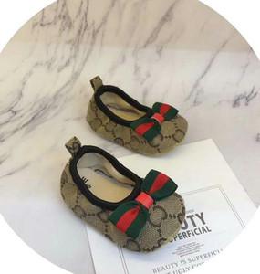 008 Nuove scarpe da bambino Unisex Crib Shoes Calzature per bambini Baby Girls First Walker Shoes Beginner Toddler 0-18m