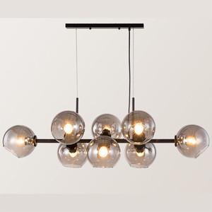 Modern Glass Bulb Chandelier Pendant Light Living Room Bedroom Dining Room Ceiling Lamp Lighting Fixture PA0137
