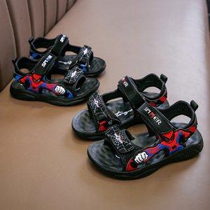 Spider-Man estate 2020 nuovo bambino antiscivolo sandali e sandali studente traspirante dei bambini coreani