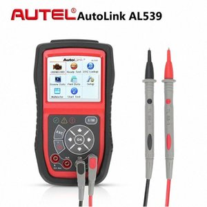 OBDII 자동차 LxOr 번호 AUTEL 자동 링크 AL539 자동 OBD2 코드 리더 전문 자동차 진단 도구 스캐너 자동차 ECU 테스터 멀티 언어
