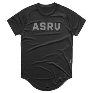 2019 Fitness Wolf-Sommer-Männer trainieren T-Shirt mit kurzen Ärmeln Letter Print Man Gym Style Breath Stretch-T-Shirt 3xl Y19060601
