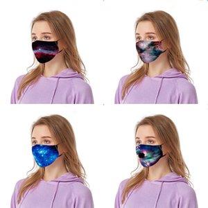 Fasionable New-Style Terament Подражать Real Silk Байдена маска Женщины атласная Fa Длинные деньги Печать Байдена Маска Весна Лето флягу # 237 # 598
