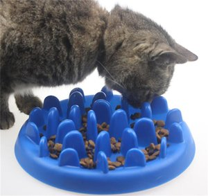 Hot Garden Home собак Pet Food Feeding Dish Чаша Силикон Puppy ЗАМЕДЛИТЬ питание фидера Блюдо для собак Поставки