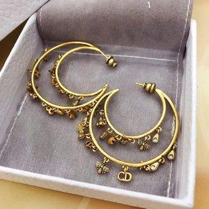 حار بيع ورقة رسالة متعدد قلادة القمر موضة الأقراط والمجوهرات النساء الأقراط