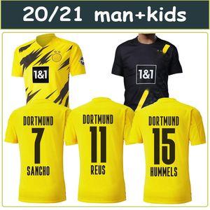 2020 2021 BVB Borussia Dortmund kids Adult Soccer Jersey GOTZE REUS 20 21 PACO ALCACER Football 19 20 110TH BVB Borussia Dortmund
