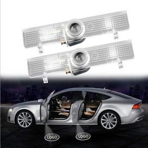 Logo coche de la luz de puerta Jurus 2pcs inalámbrica LED proyector llevado de la proyección de bienvenida lámpara de luz para Infiniti QX60 JX35 lámparas decorativas