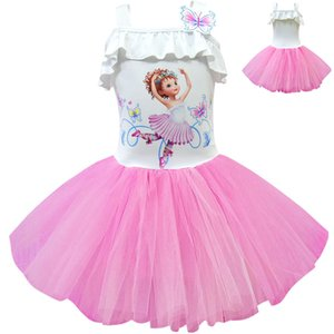 Fashion Tutu Fancy Nancy Clothes for Toddler Girl Princess Dress Little Girls Clothing Short Sleeve Dresses Party Prom Designs T200709
