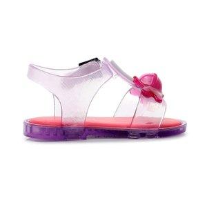 Mini Cute 3D Lollipop Sandals 2019 Summer New Girl Jelly Non-slip Kids Sandal Melissa Toddler Shoes Y200619