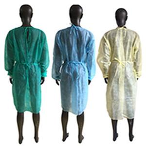 Isolamento monouso abito PP non tessuto di isolamento Work Clothes tatuaggio di polvere abito abito protettivo impermeabile grembiule EEA1888
