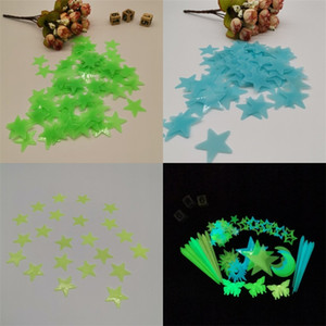 Stars Shapewall Stickers Light Sticker Home Room Decor Children Like Good Looking Glow In The Darks 0 93yy E2