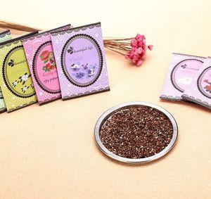 Mini Scent Natural Multi-Funcional Air Freshener Sachet Para Homes Car Bolsa fragrâncias diferentes sacos Rose Lemon Violet DHL gratuito 219