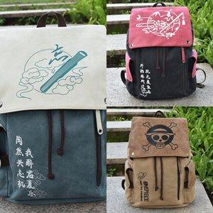 Аниме сумка убийца Наруто один кусок Призрачного лезвия Anime брезентовый мешок убийца Холст рюкзак рюкзак Наруто один кусок Призрачного Клинка