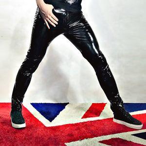 Hommes Skinny Pantalon moto en cuir Homme Mode Hip Hop Rock Punk Slim Fit Pu cuir Pantalons Scène Vêtements Can Becustom