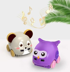 Gesture sensing follow avoidance of cross-border cartoon car with music-selling children's educational interactive toys Amazon