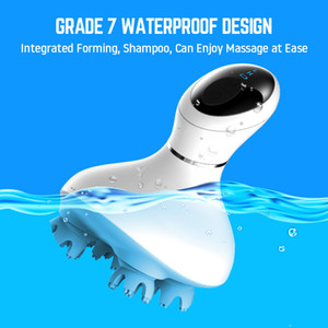 Head Massager 2020 Upgrade 3D waterproof Electric Wireless Scalp Massage Promote Hair Growth Body deep tissue Kneading Vibrating
