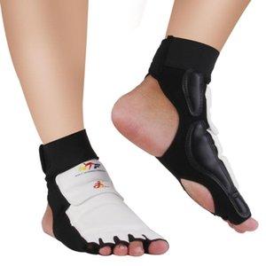 Karate Sparring TKD Taekwondo EVA Foot Guard Protector Gear Socks Kick Pads