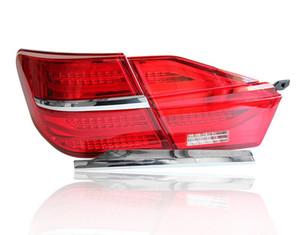 LED Taillight Para Toyota Camry 2015 2016 2017 Fog Luz traseira Lâmpada Luz + Brake + reverso + Dinâmica Turn Signal