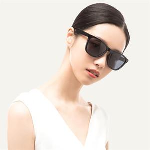 Xiaomi Mijia TAC clássicos óculos de sol quadrados para mulher homem lente polarizada de uma peça de design Sports Driving Sunglasses 10 pares
