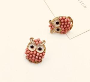 Owl Earrings fashion wedding earrings jewelry charm stud earring earrings for women free shipping ps0736