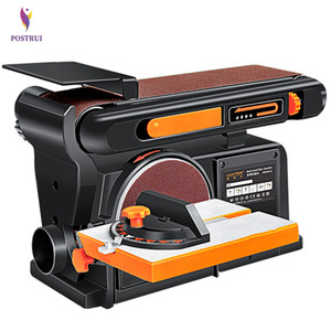 Multi-purpose woodworking sand disk belt small electric polisher woodworking sander grinding machine 220V 1PC
