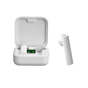 Frete grátis carregador solar Bluetooth Headphone air6 mais TWS Bluetooth Headphone in-ear fones de ouvido bluetooth sem fio com display LED