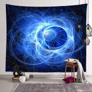 جديد رائع مليء بالنجوم ليلة نجوم السماء سجاد 3D مطبوعة تعليق على الحائط شاطئ بوهيميا منشفة الجدول القماش بطاطين