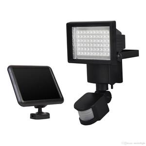 Solar Panel Floodlights LED Solar Flood Light Outdoor Security PIR Motion Sensor 60 LEDs Garden Path Wall Emergency Lamp