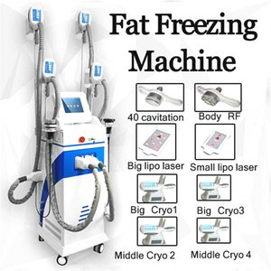 2020 New Beauty Devices Loss Machine Cryotherapy Slimming 40Khz Cavitation Rf Lipo Laser Machine Fat Freezing Machine Ce Dhl