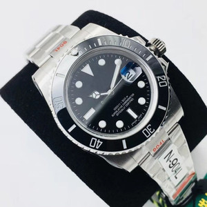 N alta qualidade relógio automático dos esportes da forma dos homens relógios mecânicos assistir espelho safira mais recente V10 100m eta3135 eta2836 esportes impermeável