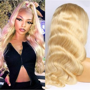 Brazilian Body Wave Wig 613 Lace Front Wig 13x6 Blonde Lace Front Human Hair Wigs for Black Women Pre Plcuked Non-Remy Jazz Star