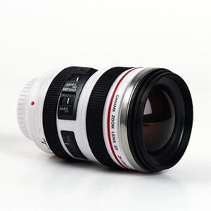 Kameraobjektiv-Kaffeetasse Kreative 6. Generation 400ml Edelstahl Tumbler Reise Camping Kaffeetassen mit Lids ZZA2453 Sea Shipping