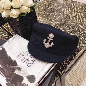 Anchor style Brooch Fashion Advanced quality pin brooch for man and women designer brooches flannel bag for gift