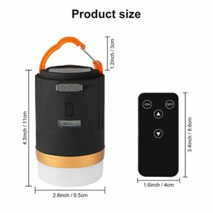 10W Adjustable Brightness USB Charging LED Camping Light 12 Hours Long Battery Life Mobile Power Hanging Outdoor Tent Lights