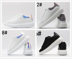 McQueen Shoesscarpe da uomo di conception de luxe femmes chaussures chaussures de sport de la plate-forme chaussures de sport PANIER PLATEFORME scarpe or MQ