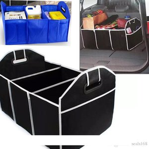 Car Trunk Organizer Car Toys Food Storage Container Bags Box Styling Auto Interior Accessories Supplies Gear Black And Blue HH7-472