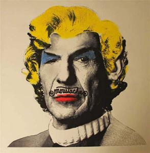 Г-н Brainwash Бэнкси Городское искусство Mr Spock Нимой Home Decor ремесла / HD печати Картина маслом на холсте Wall Art Холст Pictures 4032