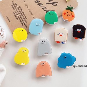 Universal Cell Phone Holder Dropping glue fold finger grip ring mobile phone holder for phone samsung xiaomi redmi cute silicone holder