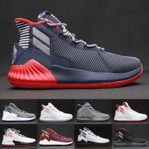 Zapatos D Rose 9 de baloncesto para hombre marrón hombre Derrick Rose 9s corredores Clasis Deportivas Botas Formación zapatilla de deporte Venta
