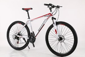 Mountain bike adult variable speed bike shock absorption off-road bike