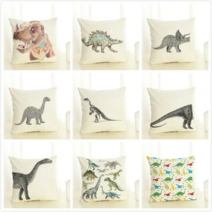 Selling Dinosaur Series Pillow Length Factory Direct 45*45cm Square Pillow Case