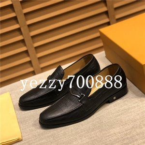 Spring and summer 2020 new high-quality luxury men's leather shoes, formal shoes, groom wedding shoes, fashion casual wild fdzhlzj K256