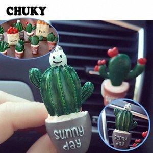 Chuky resina Cactus auto Aria condizionata Vent Profumo clip per I30 Ix35 Ix25 Solaris Tucson 2017 3 6 Cx 5 Auto Parts Interni Auto negozio GJhU #